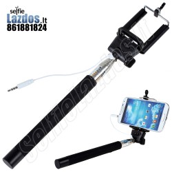 Selfie lazda su laidu S2 | Teleskopinė asmenukių lazda