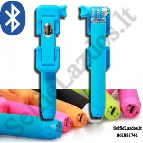 Selfie lazda su Bluetooth B6 Supreme    Go Pro lazda
