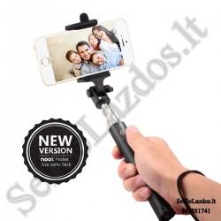 Selfie lazda su laidu S5 | Teleskopinė asmenukių lazda