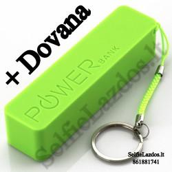 Išorinė baterija PowerBank 2600 mAh