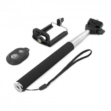 Asmenukių teleskopinė lazda su Bluetooth pulteliu B1 | Selfie lazda